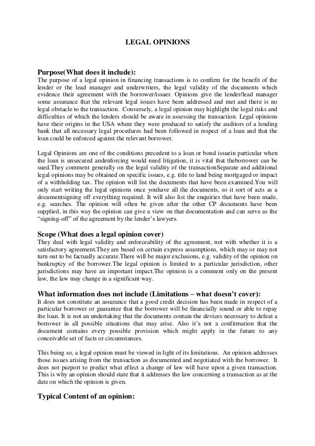 Legal opinion letter template icebergcoworking icebergcoworking.