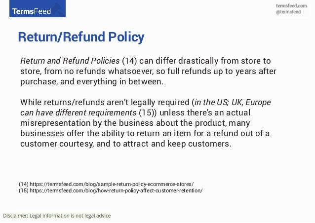 For hardware devices: To return or get a refund for devices you bought on the Google Store, go to the Google Store refunds page for more information. Google Play refund policies Refund policies are different depending on what you bought.