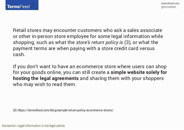 Retail Return Policy Template Gallery Template Design Ideas - Ecommerce privacy policy template