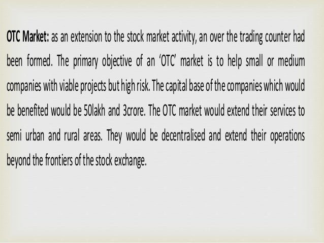 LEGAL CONTROL OF STOCK EXCHANGE IN INDIA