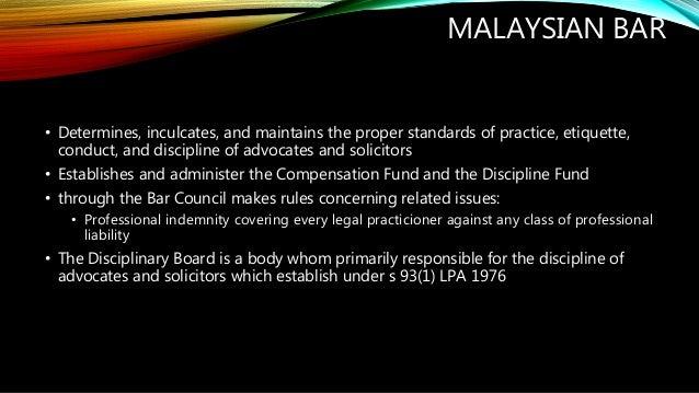 legal profession practice and etiquette rules 1978 pdf
