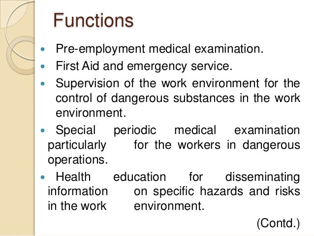 Health 2 Work.Legal Provisions For Industrial Health 2