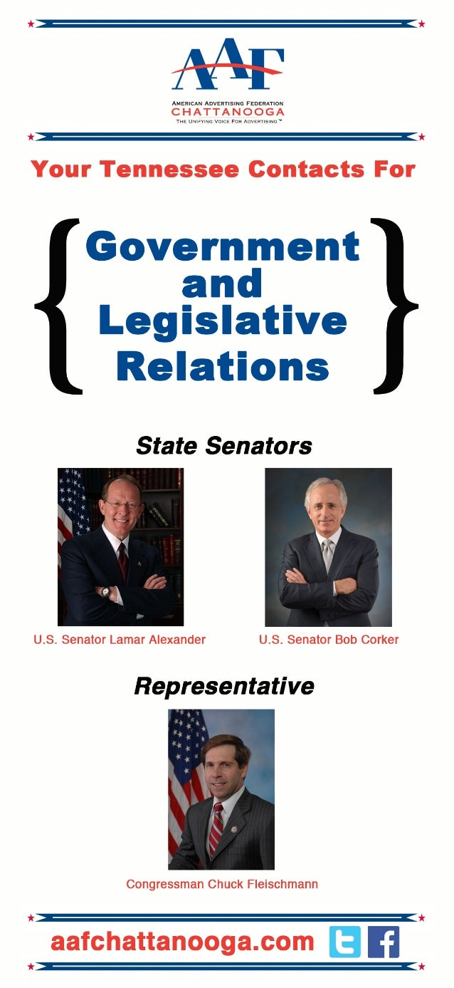Tennessee Government Relations - Who To Contact