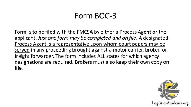 Legal Requirements for becoming an Authorized Freight Broker
