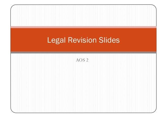 AOS 2 Legal Revision Slides