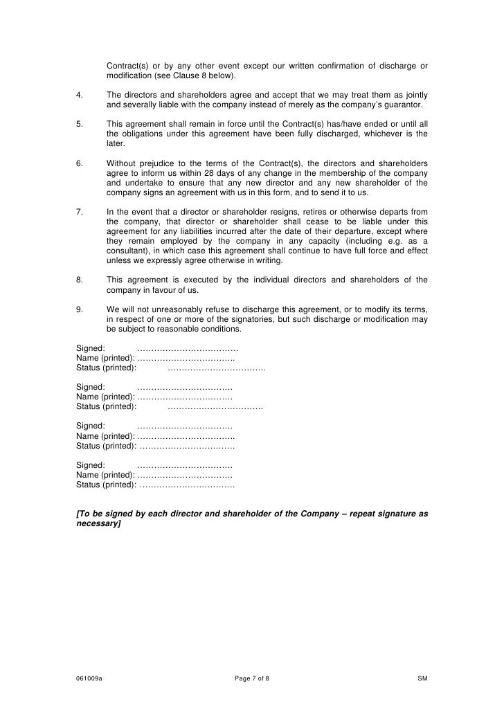 Legal Services Commission Unified Contract Contract For