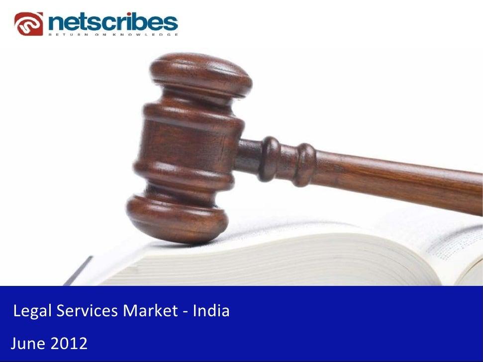 LegalServicesMarket‐ IndiaJune2012