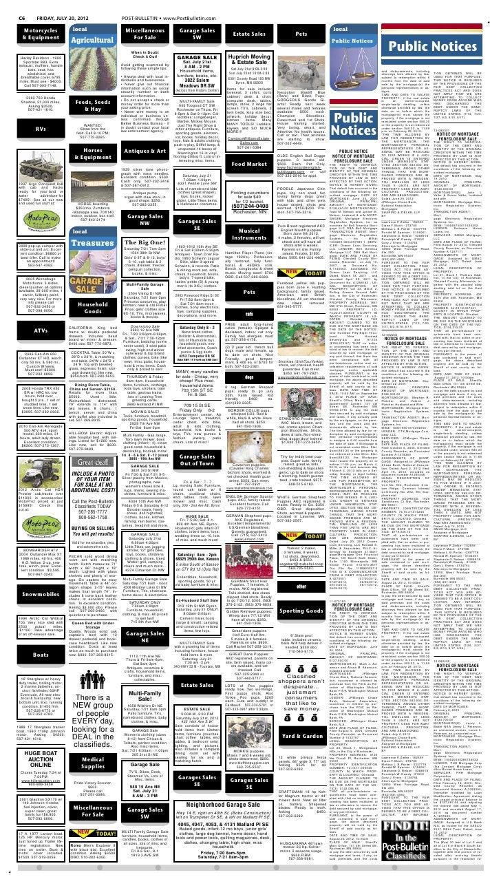 30d0d3821433 Public notices for July 20