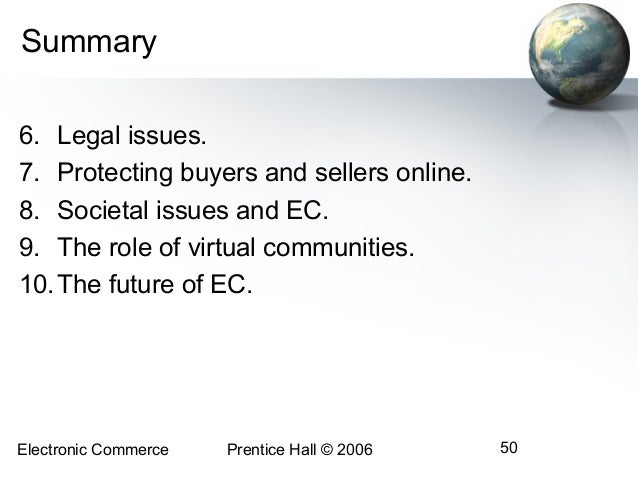 legal ethical and societal impacts of e commerce Review chapter for the new economy handbook (jones, ed), in press provide value to organizations and their customers also raise privacy concerns (p 5) [culnan.