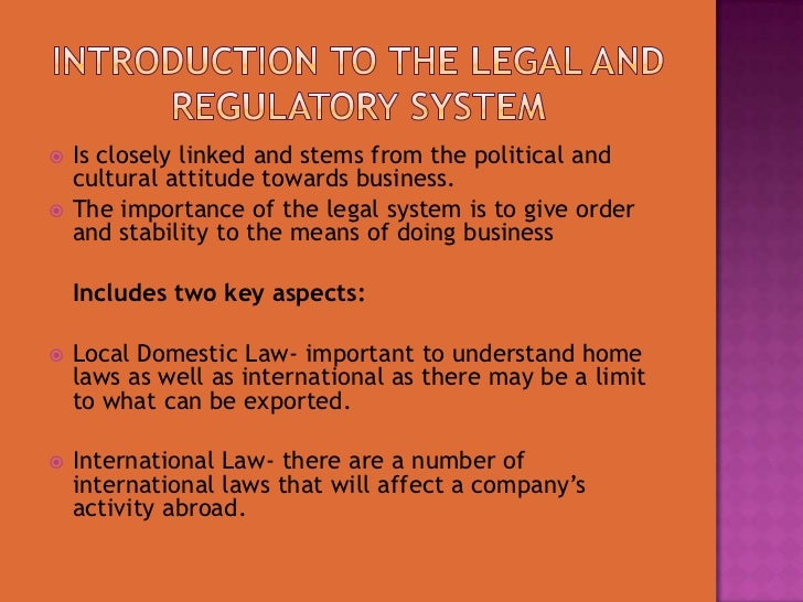legal considerations in the business environmetn What legal considerations exist with respect to trade regulations, international contract formation, employment and human rights issues, and prohibited activities in the international environment figure 131 global business.