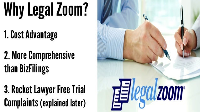 Legal Documents Legalzoom Vs Rocketlawyer Vs Bizfilings