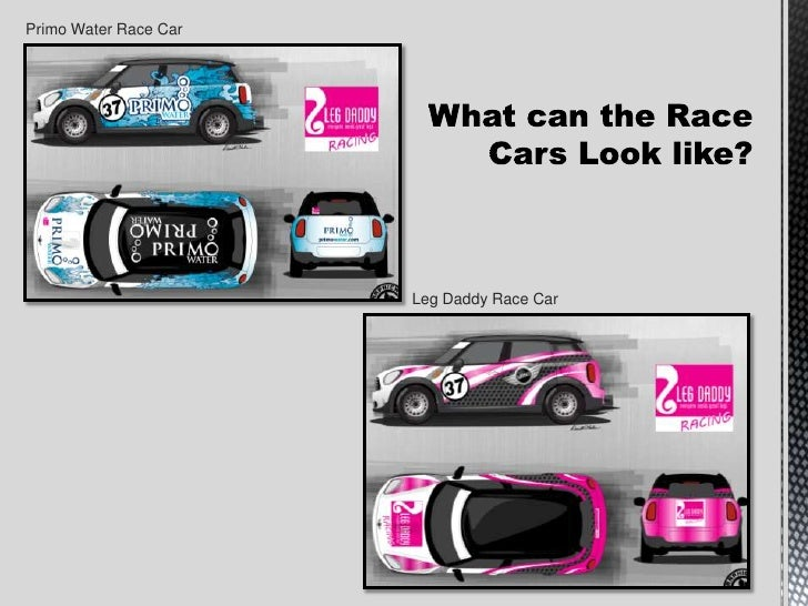 Leg Daddy Racing Sponsorship Proposal – Race Car Sponsorship Proposal Template
