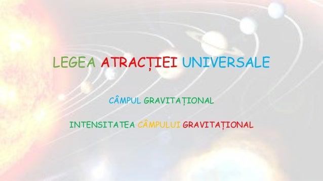 forta gravitationala fizica