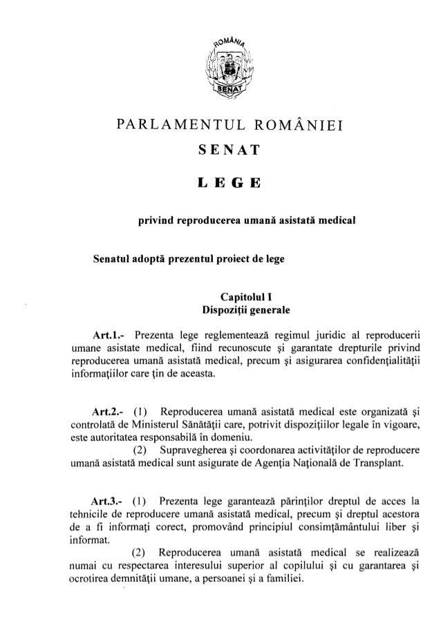 Legea ruam forma adoptata de senat