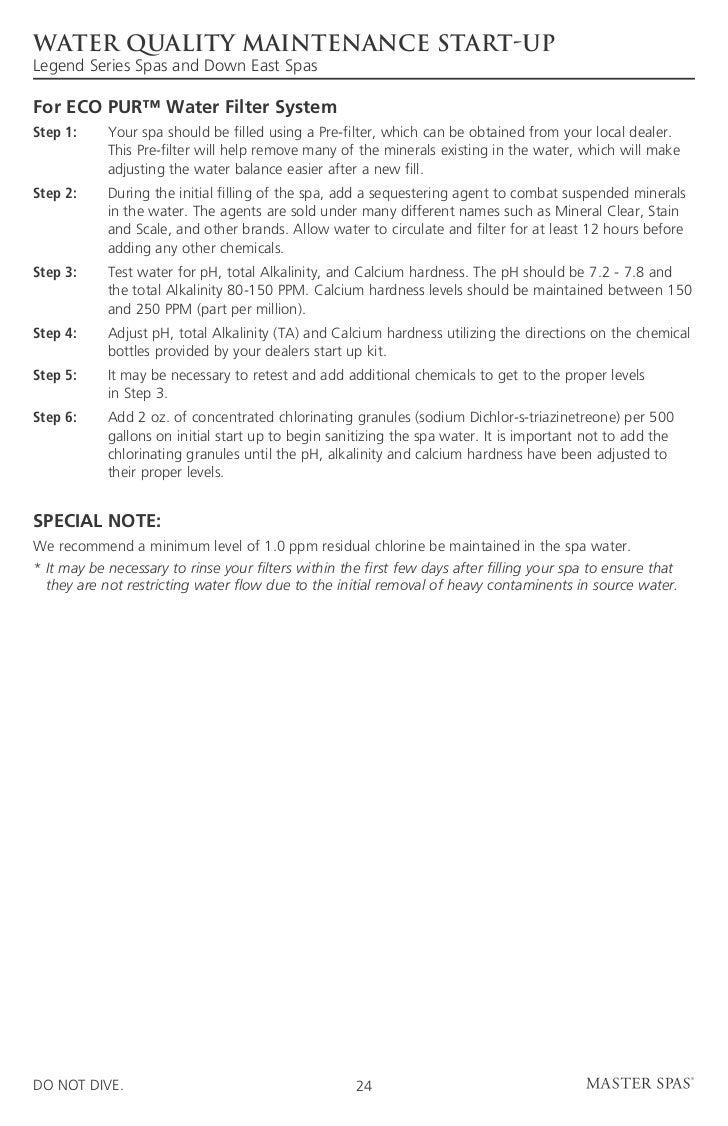 legend de master spas owners manual 2011 rh slideshare net master spa down east owners manual down east spas exeter owners manual