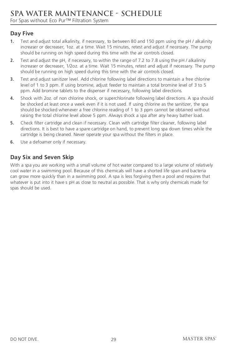 legend de master spas owners manual 2011 rh slideshare net down east spas exeter owners manual Down East Spas Owner's Manual