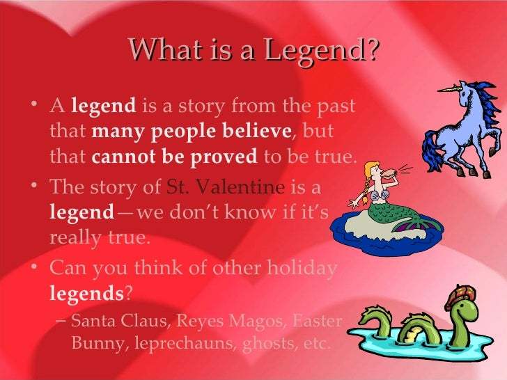 What Is A Legend?