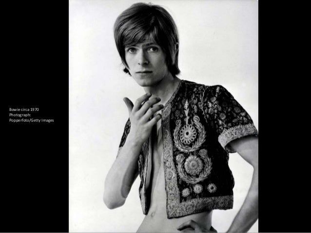 The 1972 album cover Hunky Dory