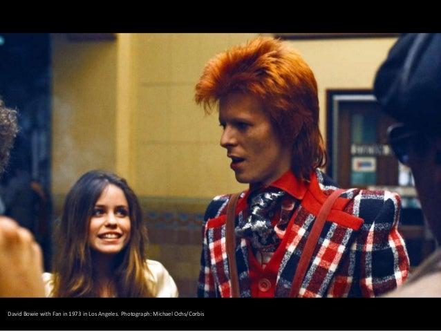 David Bowie in 1976 ANDREW KENT / RETNAUK (CORBIS).
