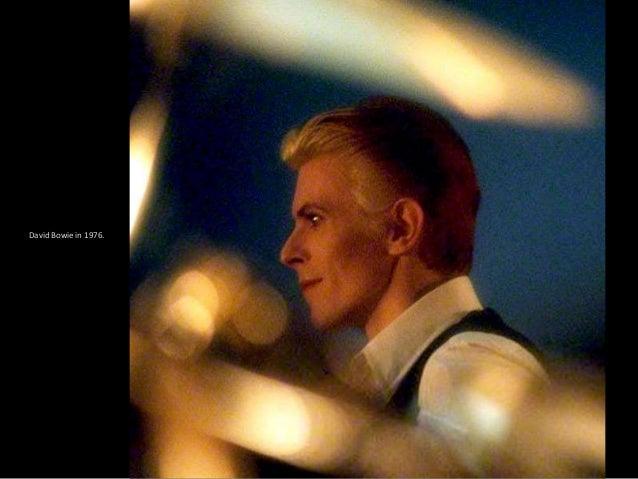 David Bowie in 1978. HULTON-DEUTSCH COLLECTION/CORBIS