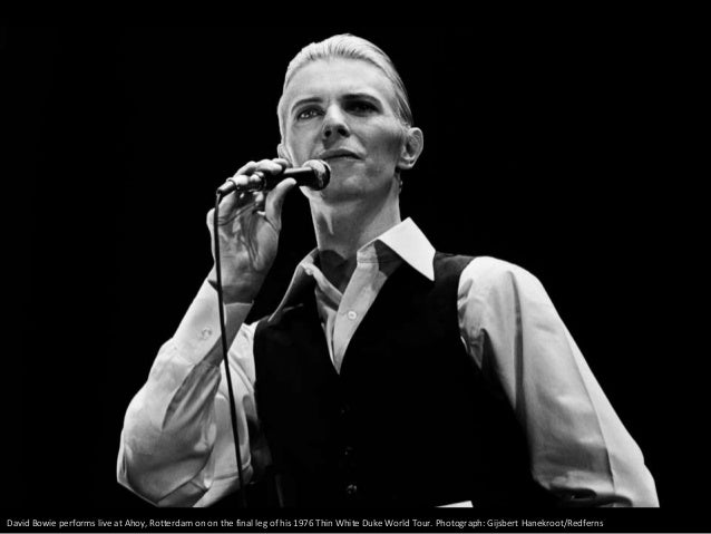 Bowie onstage on Low/Heroes 1978 world tour. Photograph: Richard E. Aaron/Redferns
