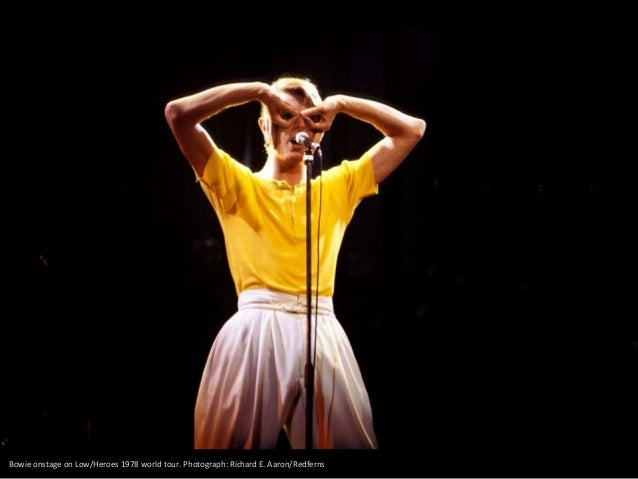 David Bowie performing at Wembley, London in 1983. Photograph: Kevin.Mazur/WireImage