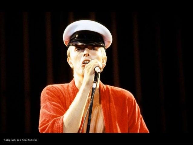 Portrait of singer David Bowie in 1983. RALPH GATTI (AFP)