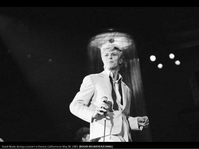 David Bowie in 1991. Photograph: Richard Young/REX/Shutterstock