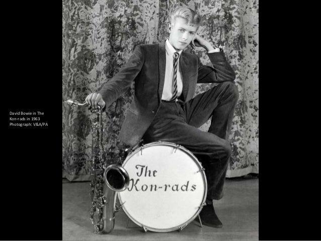 David Bowie in 1964.