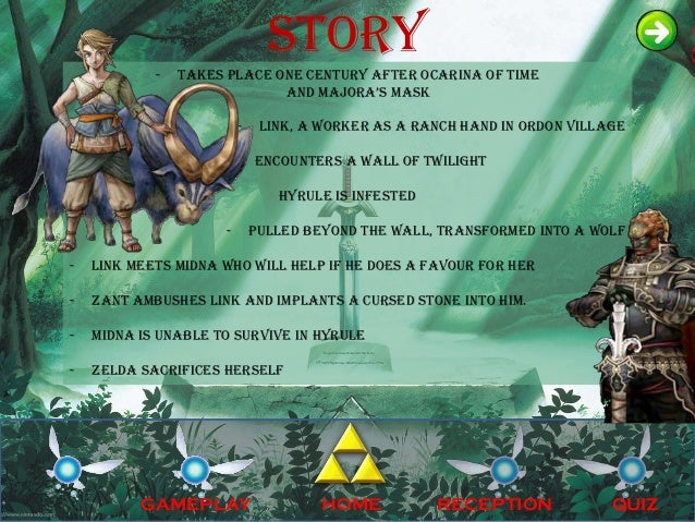 Legend of zelda ppt toneelgroepblik Choice Image