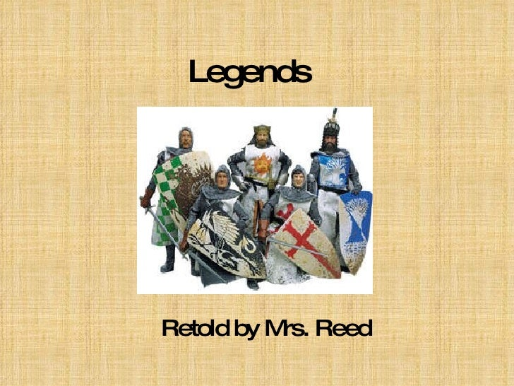 Legends Retold by Mrs. Reed