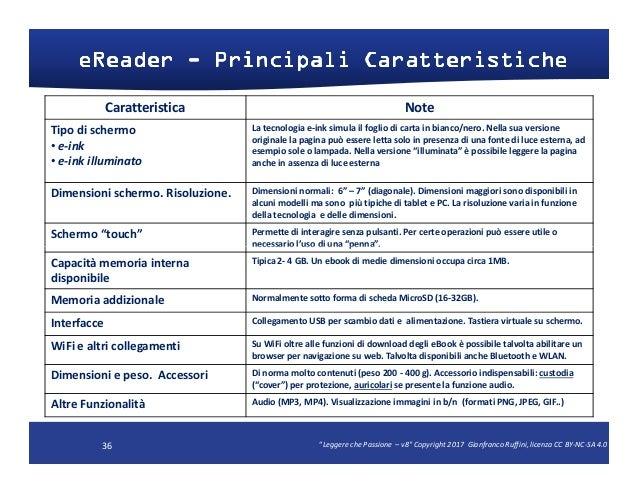scambio video ebook reader 7
