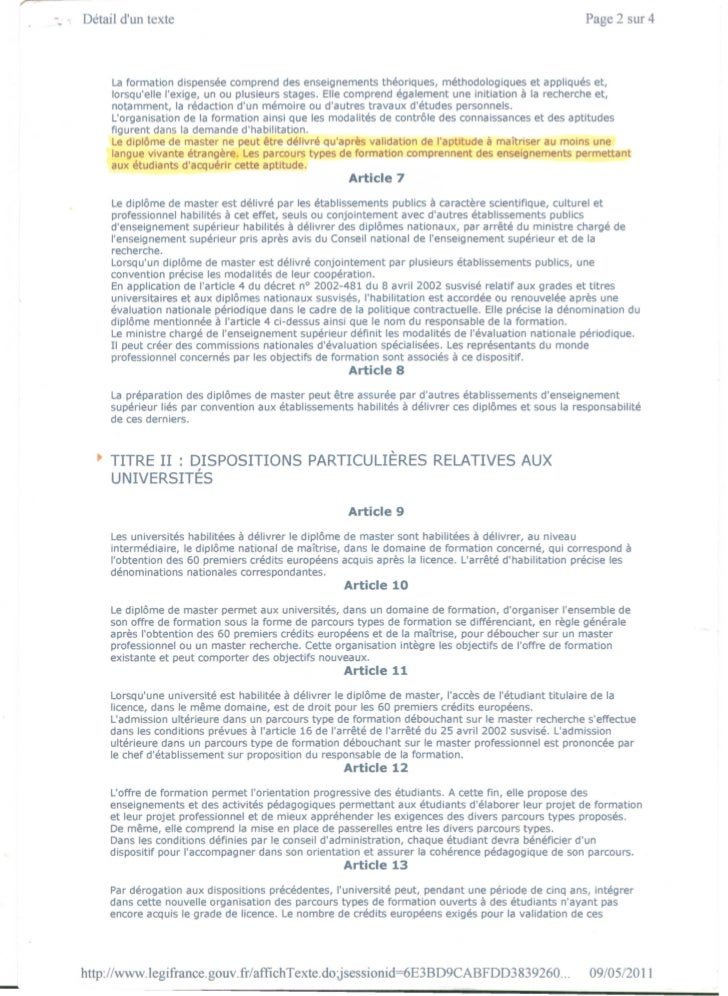 Legifrance   uredba