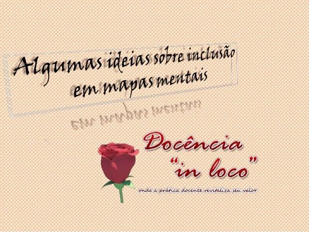 """Slides desenvolvidos por: Rosana Rogeri                    Para o blog Docência """"in loco""""                      http://doce..."""