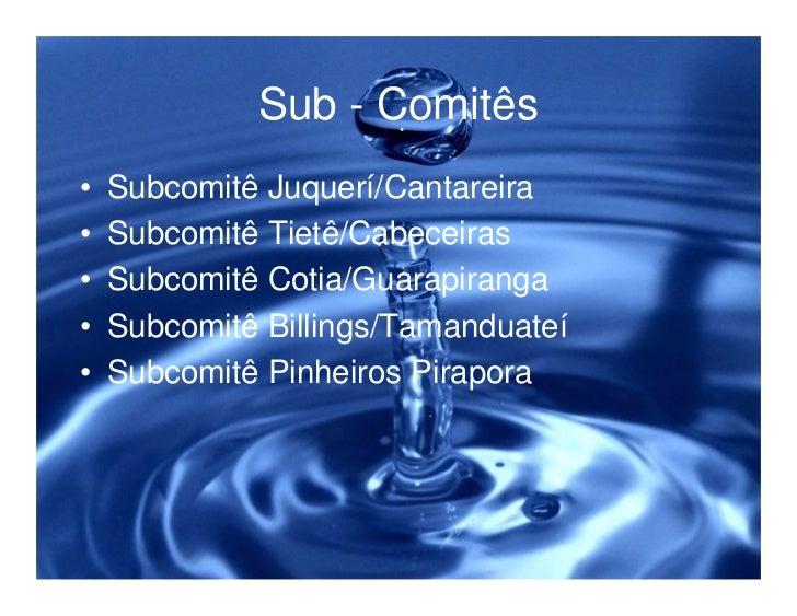 Legislação ambiental e a proteção dos recursos hídricos Slide 29