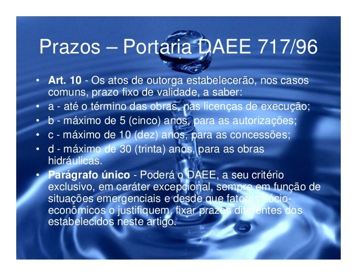 Legislação ambiental e a proteção dos recursos hídricos Slide 32