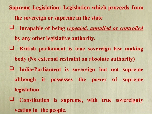 Consolidating legislation definition
