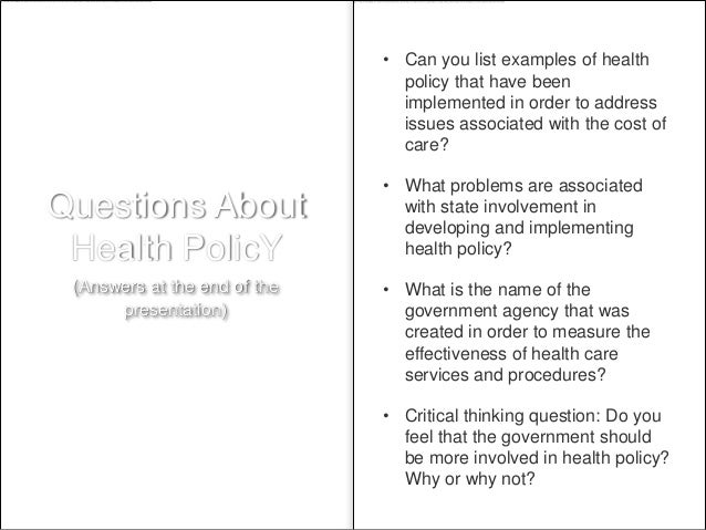 health care policies examples image collections - resume cover