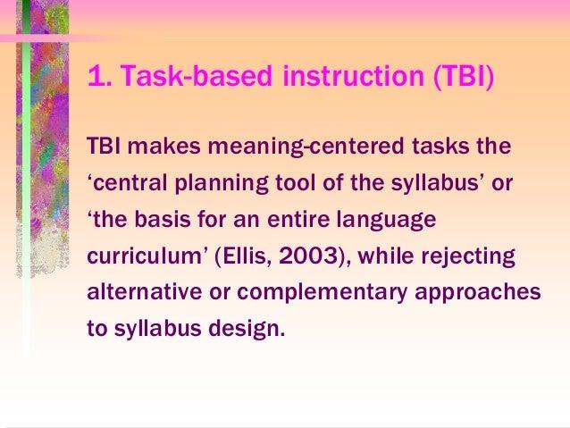 Legislation by hypothesis: task-based instruction