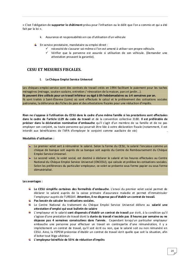 Legislation Du Travail Ass Vie Dependance