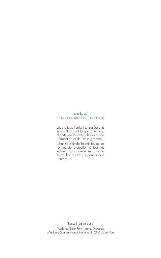 LA LÉGISLATION EN MATIÈRE DE PROTECTION SOCIALE DE L'ENFANCE Slide 2