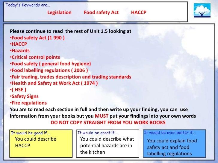 food hygiene regulation 2006