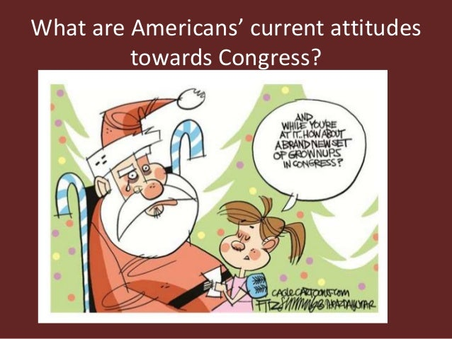 What are Americans' current attitudes towards Congress?