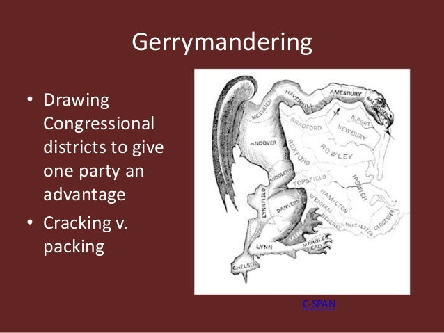 Ch 5 Congress Basics – Gerrymandering Worksheet