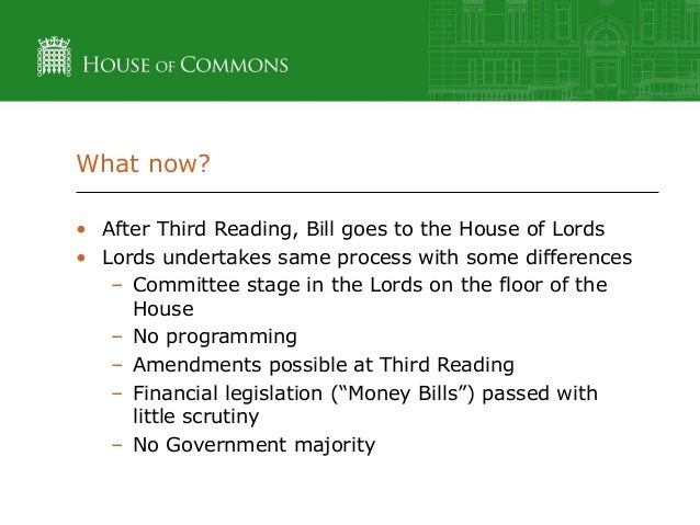 house passes rh bill on second reading essay Who can recommend the passage of a bill  second reading 4 debates 5 printing and distribution 6 third reading 7  once a bill is passed by either house, it has to be in the exact same.