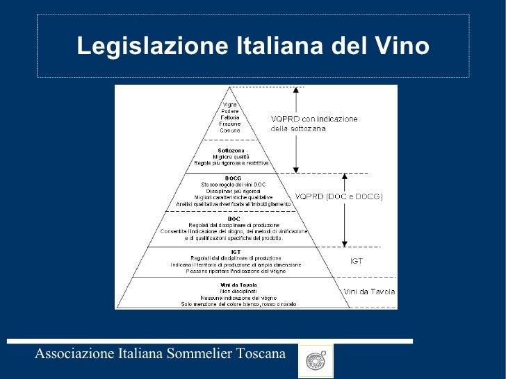 Legislazione Italiana del Vino