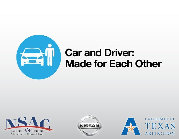 Car and Driver:Made for Each Other