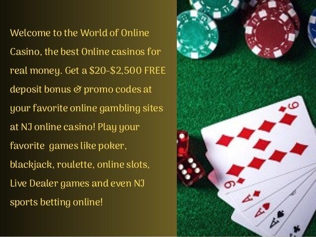 Legit Online Casino In New Jersey
