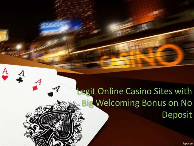 legit online casino no deposit bonus