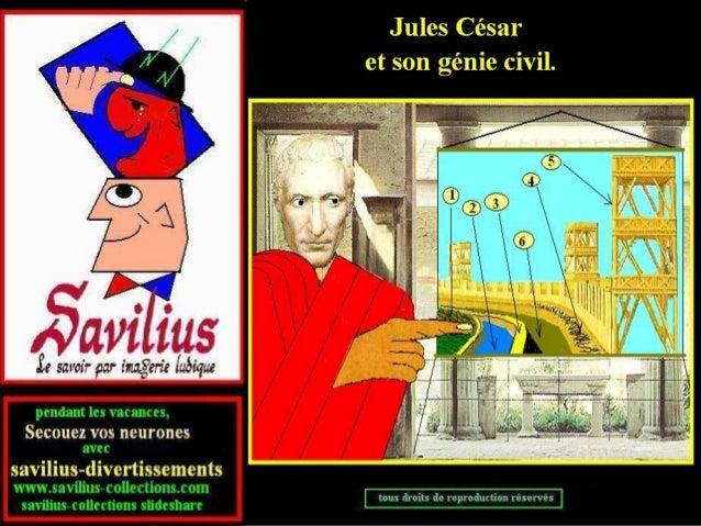 Le génie civil de Jules César+quiz